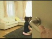 Japanese girls fucked while playing Wii