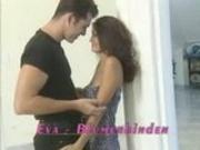 Hot brunette Eva and guy