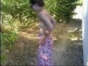 french bitch outdoors