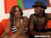 Sexy ebony chick Ayana Angel