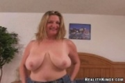 Evelyn Big Tits MILF Sucks And Fucks