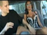 Priya fucks in the back seat