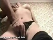 shy russian teen fingered and fucked from 2 guys