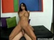 Eva Angelina Rides Big Cock!
