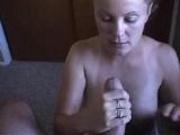 Anette Beautiful Nurse Awesome Blowjob Wanking Fantasy