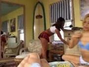 Lesbians fuck ass with huge dildo