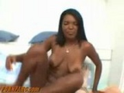 Hot Ebony Chick Oral Sex