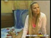 Stunning Blonde Webcam Girl