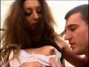 Arab girl Angelina and Sebastien Barrio