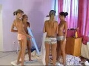 All Girl Russian Orgy