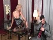 hot blond stripper