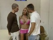 Annina Ucatis hot threesome