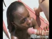 Cumshot Compilation black woman
