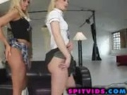 Blonde takes a cock ride like youve never seen!