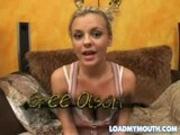 Bree Olson swallow