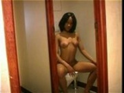 black girl from lyon ass fucked in the bathroom