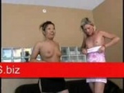 Hevyn - Asian and blonde lesbian sex pt1