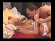 MILF gets pierced pussy rammed from behind!