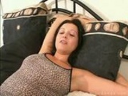 hairy pussy housewife in first porn audition