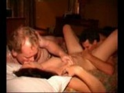 Amateur - Dutch slut Lieke fucked by 2 guys