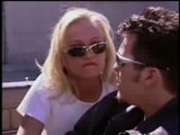 Hot teen blonde fucked outdoors