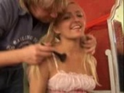 Cute Sammy lets Older Guy Go Straight to her Ass