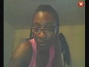 Black girl on Camfrog webcam