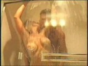 Hot mature big boobs fuck in shower