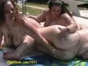 bbws by the pool