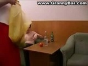 Drunk Russian Mature Woman
