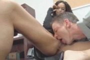 Tyra Banxxx Office Fuck