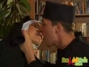 Nun fucked by priest!
