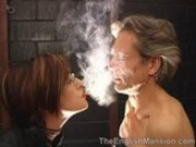 Smoking Fetish - TheEnglishMansion - Blue Smoke Trainin