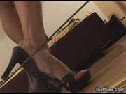 Feetfiles - Nicole teases her feet