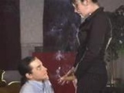 Smoking Fetish - Colight - Strapon Training FemDom