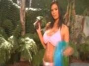 Tera Patrick - Bikini handjob