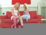 Sophie and Stella Lesbian Feet