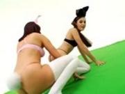 Sasha Grey and Dana DeArmond ass play