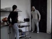 Leonie fucks her fitness coach