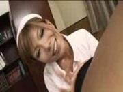 JAV Tanned Nurse Creampie