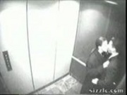 Secretary sucks off boss in elevator