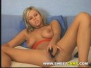 Very Hot Blonde on Webcam