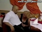 German Granny  Fucked at sexparty