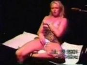 Blond wife cuckold