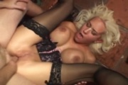 Trina Michaels abused by 2 cocks