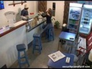 Security Cam Ice Cream shop