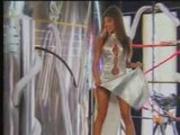 Jasmine St Clair - silver dress