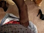 POV Footjob 15