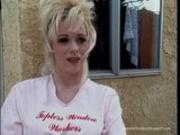 Kaitlyn Ashley window washer