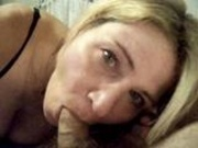 Blonde Mature Blowjjob